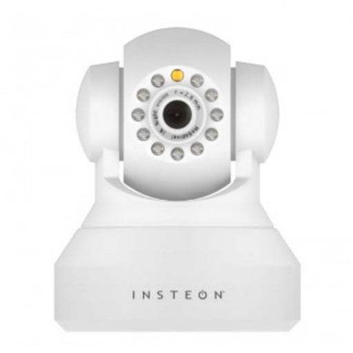 Insteon Wireless HD 720p IP Camera with Pan, Tilt & Night Vision - White - Image 1