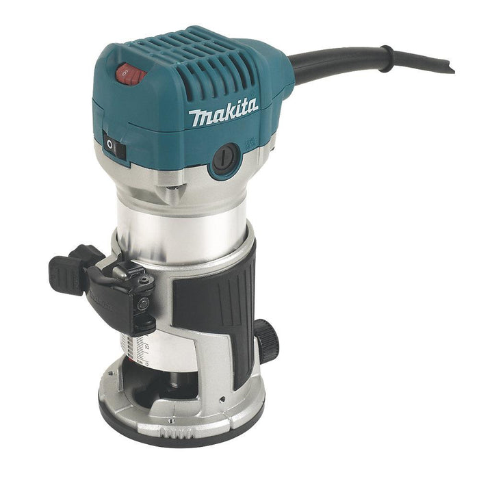 "Makita RT0700CX4/2 710W ¼"" & 3/8"" Electric Router Trimmer 240V - Image 1"