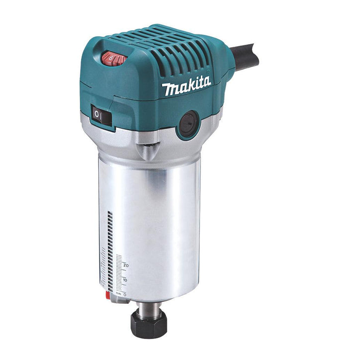 "Makita RT0700CX4/2 710W ¼"" & 3/8"" Electric Router Trimmer 240V - Image 3"