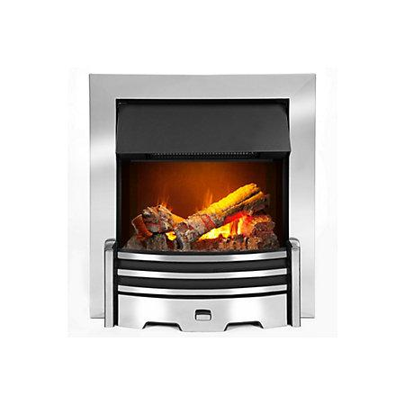 DIMPLEX OPTIMYST 2KW INSET ELECTRIC FIRE CHROME EF - Image 1