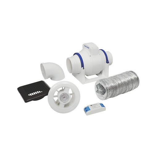 ACM100T LED Shower Light Fan Kit - Image 1