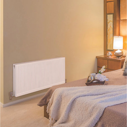 Barlo Type 22 Double-Panel Double Convector Radiator 400 X 700Mm White (1309V) - Image 2