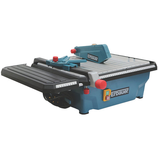 Erbauer ERB337TCB 750W Tile Cutter 180mm 220-240V with Wet-Cutting Diamond Blade - Image 1