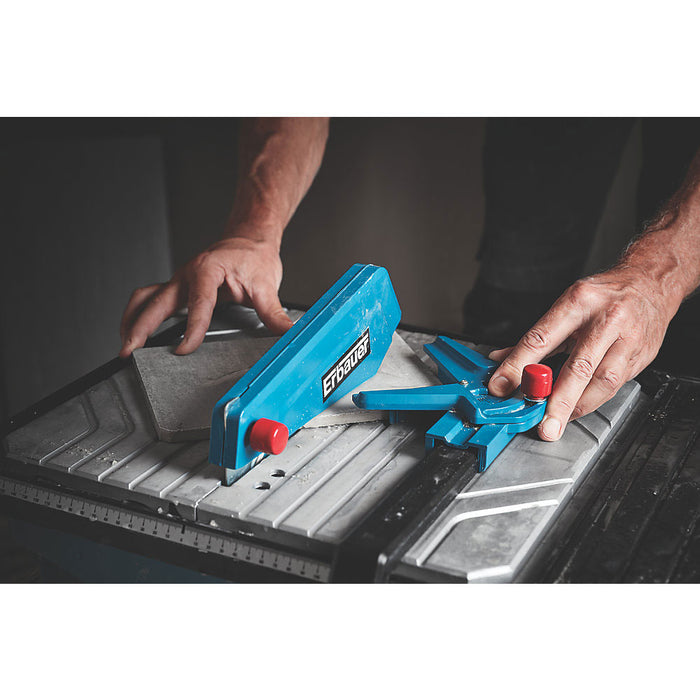 Erbauer Tile Cutter ERB337TCB 750W 180mm 220-240V with Wet-Cutting Diamond Blade - Image 4