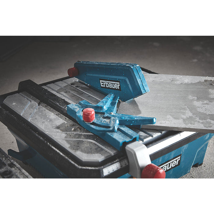 Erbauer Tile Cutter ERB337TCB 750W 180mm 220-240V with Wet-Cutting Diamond Blade - Image 5