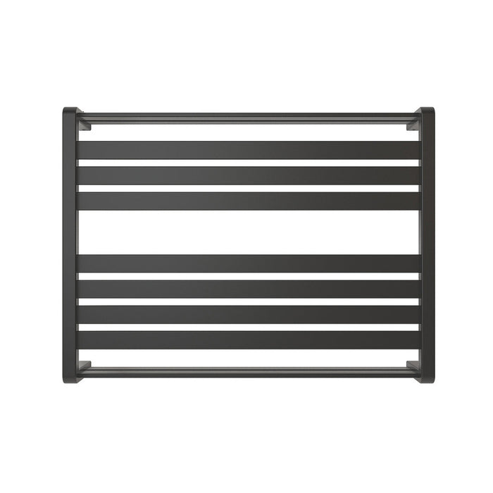 Loreto Towel Warmer Horizontal 600x800mm 535W Matt Anthracite Finish - Image 2