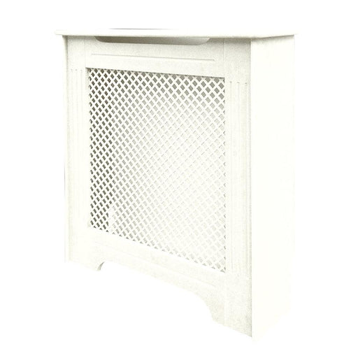 Victorian Radiator Cabinet White 820 x 210 x 868mm - Image 1