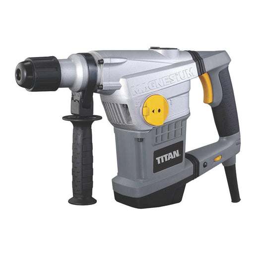 Titan TTB572SDS 1250W 110V Corded Electric SDS Max Drill & Chisel 6-Speeds - Image 1