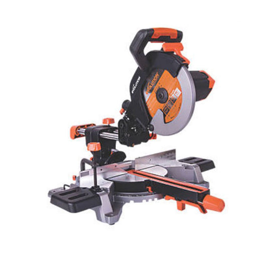 "Evolution Electric Single-Bevel Sliding Mitre Saw 255mm 10"" R255SMS 1600W 110V - Image 1"