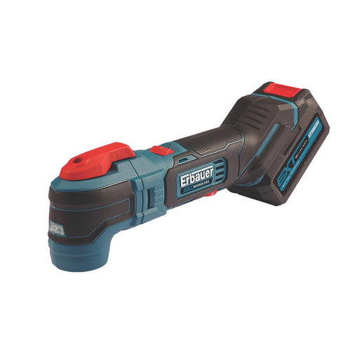 Erbauer EMT18-Li-QC 18V 1X4Ah Li-Ion Cordless Multi Tool with Battery & Charger - Image 1