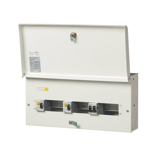10-way Split Load Metal CU (dual 100A RCD) - Image 1