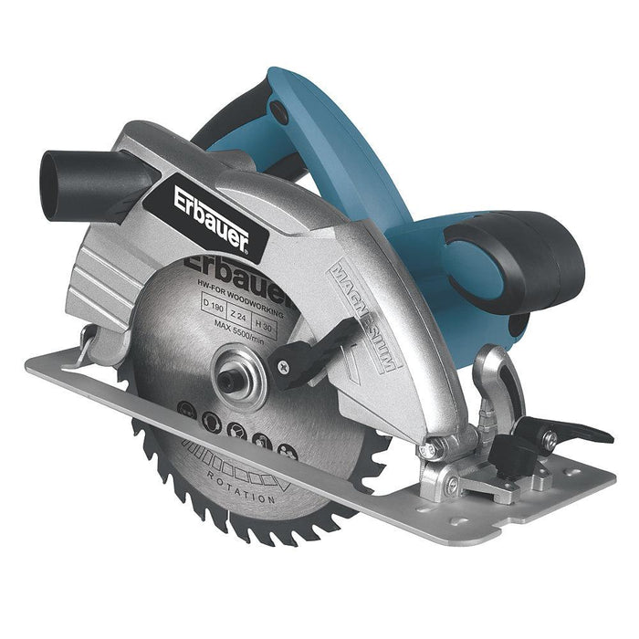 Erbauer ERB566CSW 1500W 190mm  Circular Saw 240V - Image 1