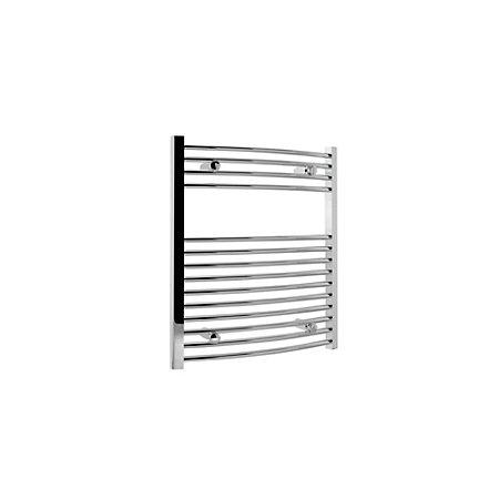 Kudox T/Warmer Curved Chrome 600x700mm - Image 1