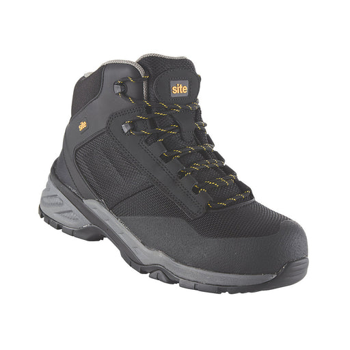 Site Magma Metal Free  Safety Boots Black Size 7 - Image 1