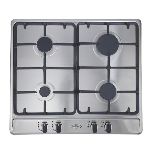 Belling GHU60CG STA Gas Hob Stainless Steel 500 x 580mm - Image 1