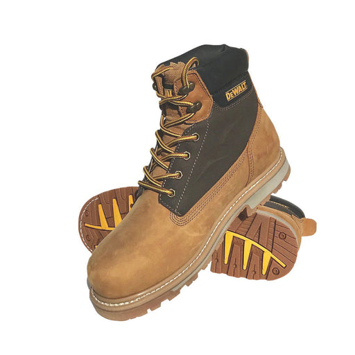 Dewalt Axle Safety Boots Honey Size 7 - Image 1
