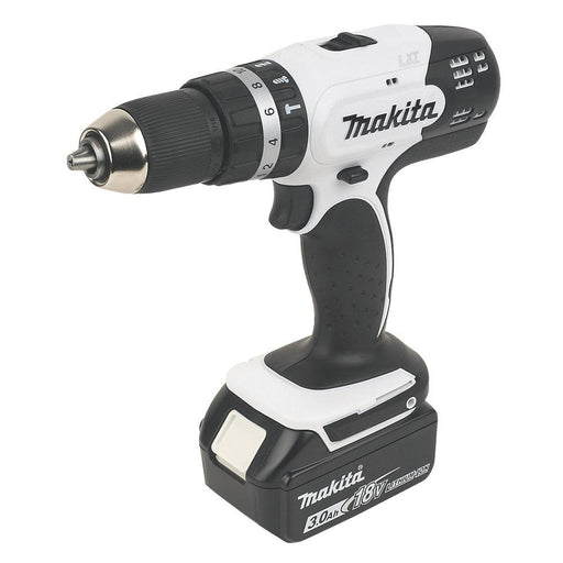 Makita DHP453SFEW 18V 2 x 3.0Ah Li-Ion LXT Cordless Combi Drill 13mm with Case - Image 1