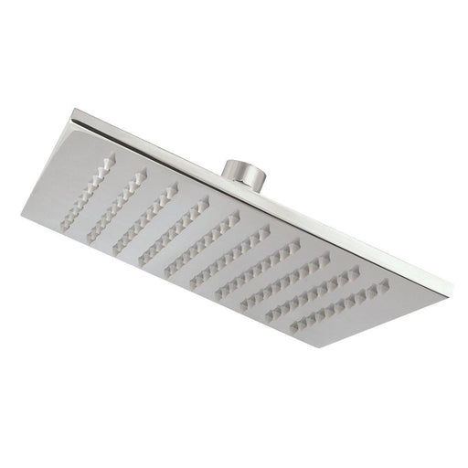 Cooke and Lewis Fixed Square Shower Head Chrome 200mm - Image 1