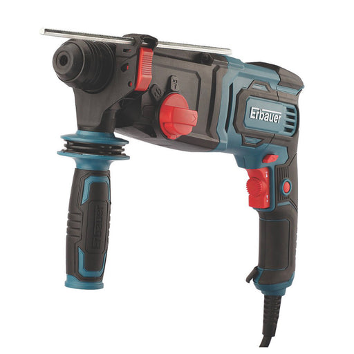 Erbauer Electric SDS Plus Hammer Drill ERH750 750W 220-240V - Image 1