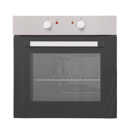 CSB60A Built In Single Electric Oven Stainless Steel 595 x 595mm - Image 1