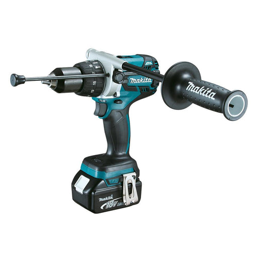 Makita DHP481RTJ with Battery 18V 2 x 5.0Ah Li-Ion Cordless Combi Drill - Image 1