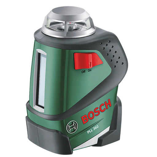 Bosch Line Laser Level & Tripod 360 Self-Levelling Cross - Image 1