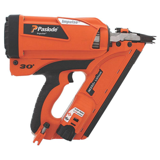 Paslode IM350+ Multi-angled Gas Framing Nail Gun First Fix 90mm 7.4V 2.1Ah - Image 1