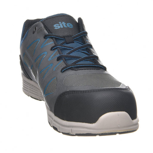 Site Crater Grey Safety trainers, Size 10 - Image 1