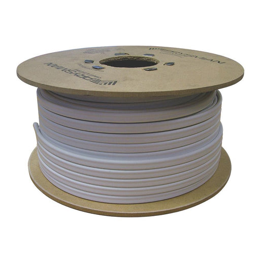 Prysmian 6242B Twin & Earth Cable 4mm² x 100m White - Image 1
