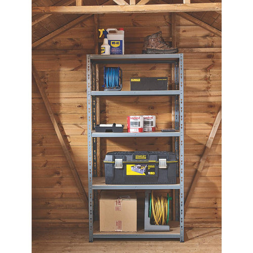 Heavy Duty Shelving 900 x 450 x 1800mm - Image 1