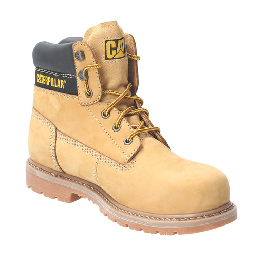 CAT Achiever Safety Boots Honey Size 7 - Image 1