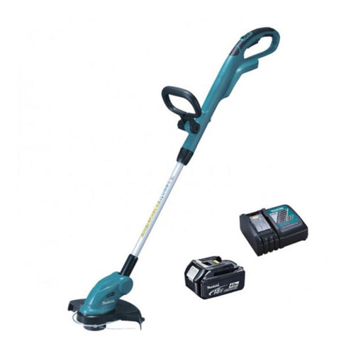 Makita DUR181RM 1x4.0Ah Cordless Telescopic Grass Trimmer Dia 26cm with Charger - Image 1