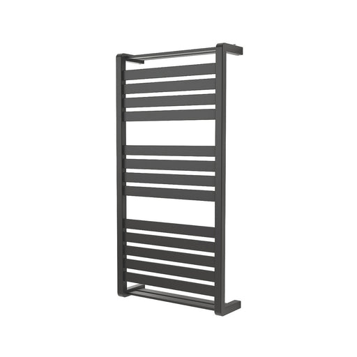 Goodhome Loreto Vertical Water Towel Warmer 1000 x 500mm Antracite - Image 1