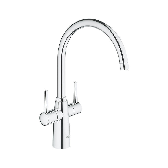 Ambi C spout 2 handle kitchen tap - Image 1
