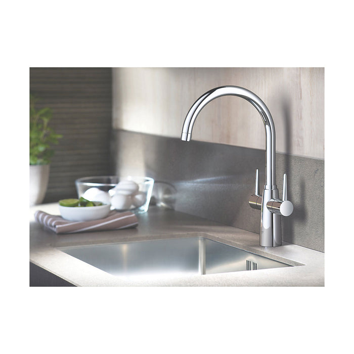 Ambi C spout 2 handle kitchen tap - Image 2