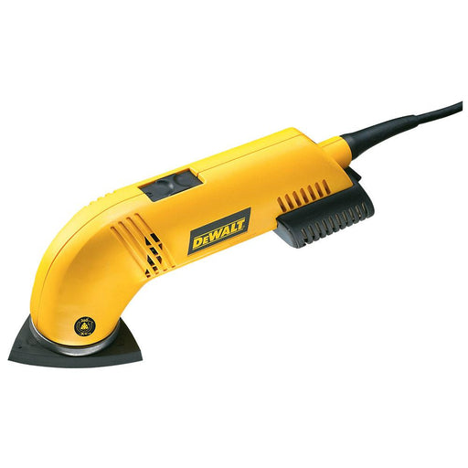 DeWalt Electric Detail Sander D26430-GB 300W 240V Integrated Dust Extraction - Image 1