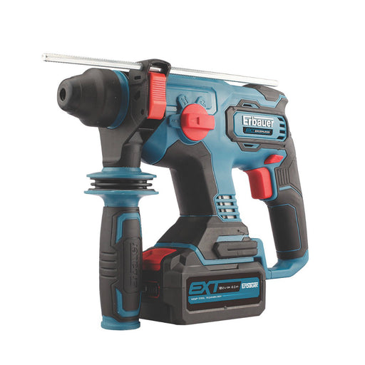 Erbauer 2KG 1 x 4Ah Li-Ion SDS Plus Hammer Drill 3-Functions Variable Speed - Image 1
