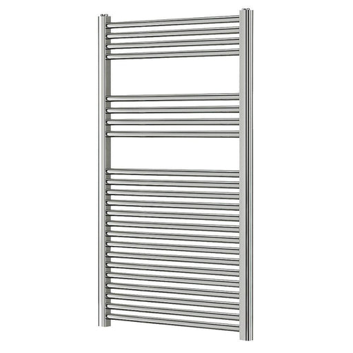 Blyss Bathroom Flat Towel Radiator Ladder Chrome 1200 x 600mm - Image 1