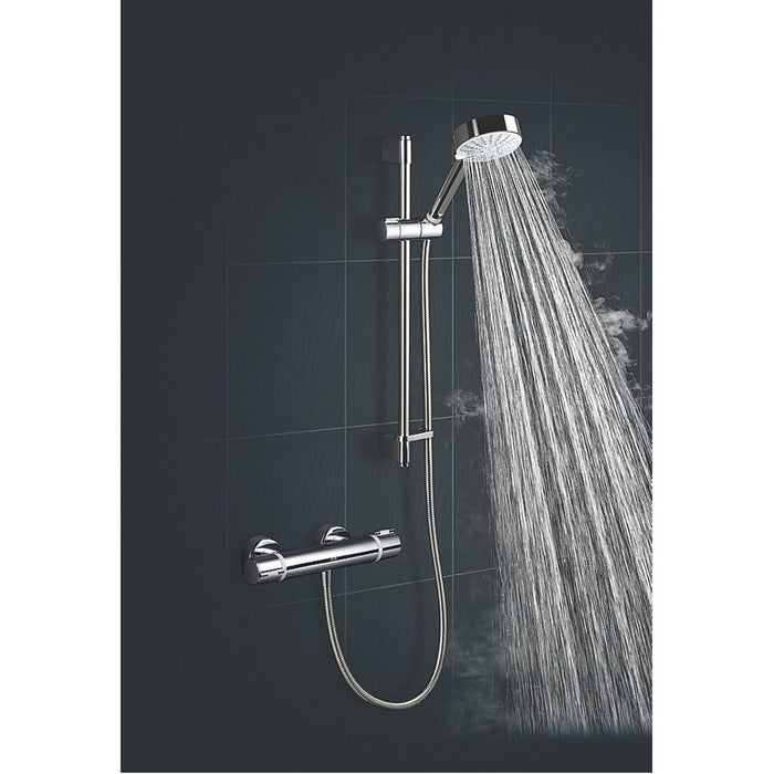 Mira Thermostatic Mixer Shower Atom EV Contemporary 4-Spray Pattern - Image 5