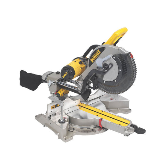 DeWalt Compound Mitre Saw DWS780-LX 305mm 110V Double-Bevel Sliding  TCT Blade - Image 1