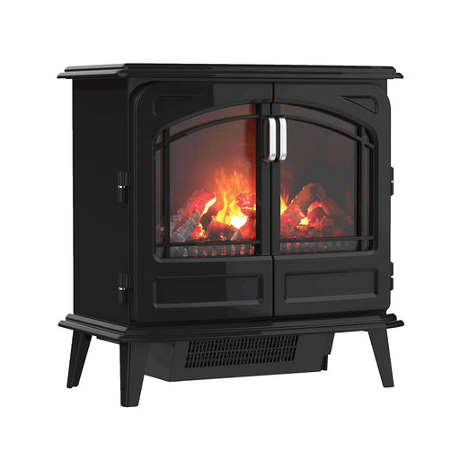 Dimplex Opti-Myst Grand Noir / Black Enamel Effect Electric Stove - Image 1