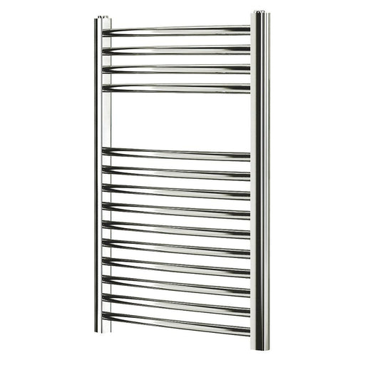 Blyss  Curved Towel Radiator Chrome 700 x 400mm - Image 1