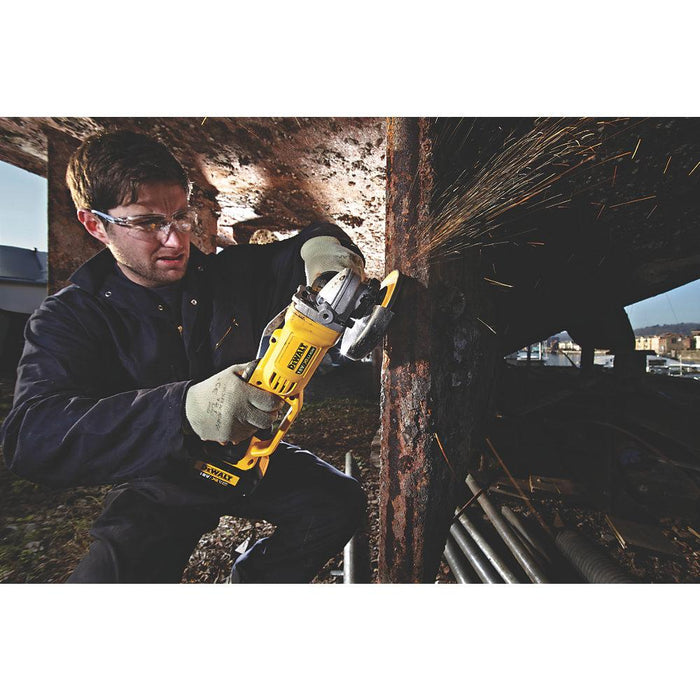 "DeWalt DCG412N 18V Li-Ion XR 5""  125 mm Cordless Angle Grinder - Body only - Image 3"