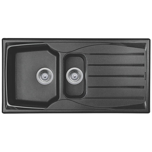 Astracast 1.5 Bowl Reversible Sink Sierra Teflite 980 x 500mm Scratch Resistant - Image 1