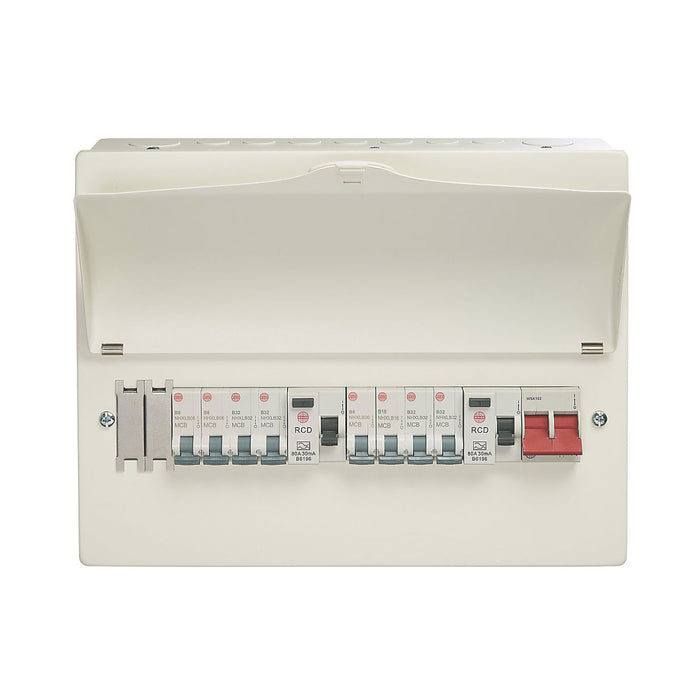 Wylex Consumer Unit 16-module 10 Way Populated High Integrity Dual RCD - Image 2