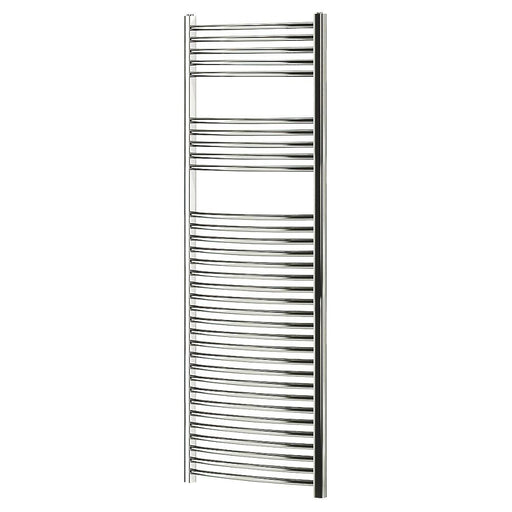Blyss  Curved Towel Radiator Chrome 1600 x 600mm - Image 1