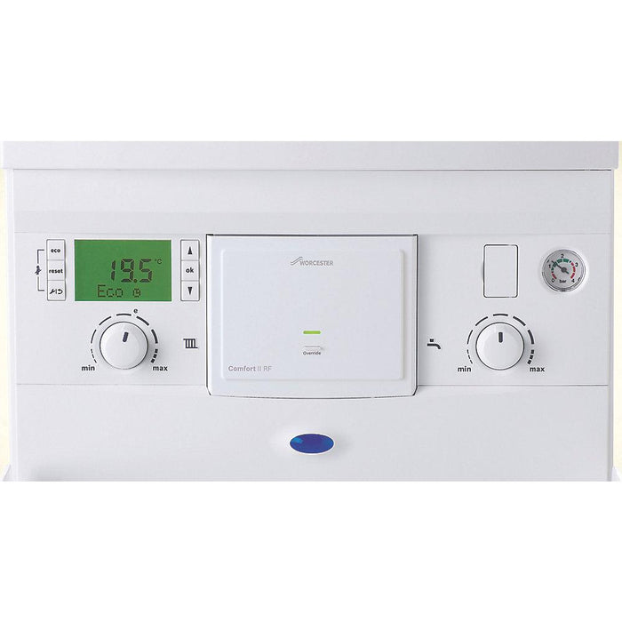 Worcester Bosch Comfort II Wireless Room Thermostat & Plug-In RF Receiver - Image 2