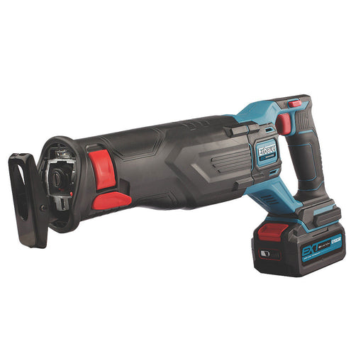 Erbauer Cordless Reciprocating Saw Brushless ERS18-Li 18V 1 x 4.0Ah Li-Ion EXT - Image 1