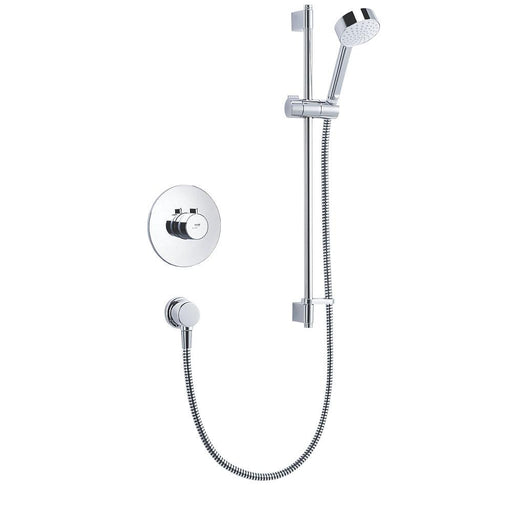 Mira Minilite Thermostatic Shower 1-Spray Pattern BIV Rear-Fed Built-In Chrome - Image 1