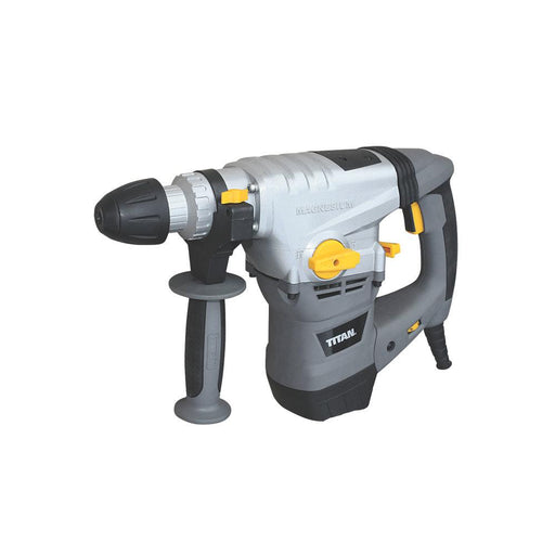 Titan SDS Plus Drill Corded TTB631SDS Drill, Hammer & Chisel & 22 Accessories - Image 1